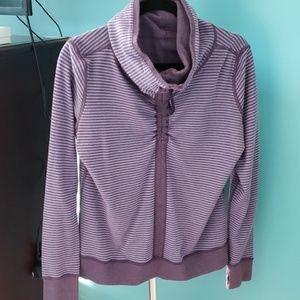 Lululemon cowl neck reversible sweatshirt size 10
